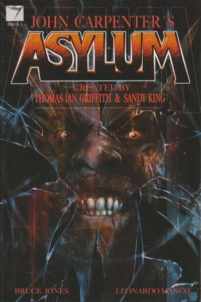 John Carpenter's Asylum Comic Books. John Carpenter's Asylum Comics.
