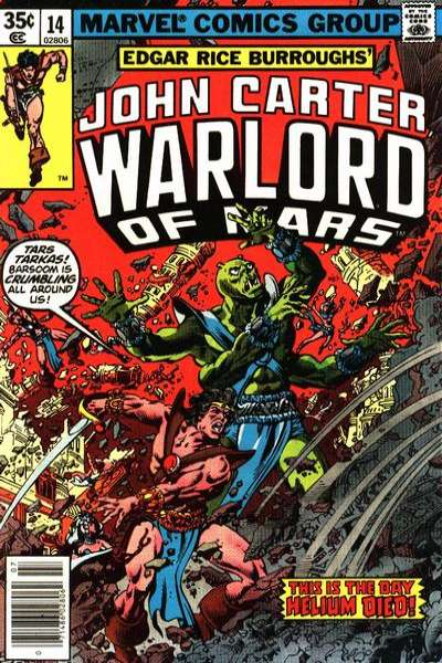 John Carter: Warlord of Mars #14 comic books for sale