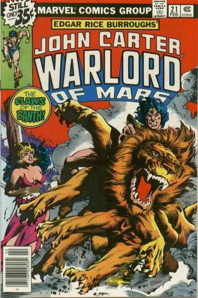 John Carter: Warlord of Mars #21 Comic Books - Covers, Scans, Photos  in John Carter: Warlord of Mars Comic Books - Covers, Scans, Gallery