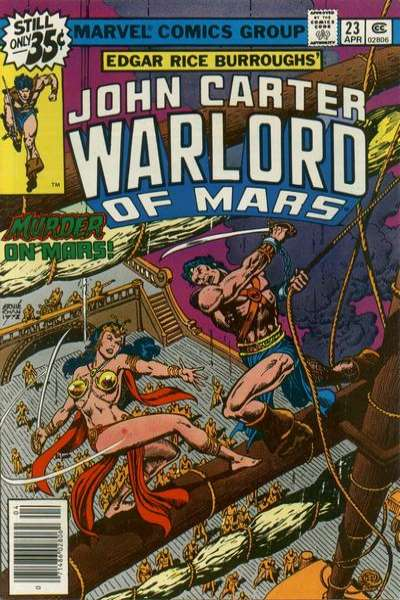 John Carter: Warlord of Mars #23 Comic Books - Covers, Scans, Photos  in John Carter: Warlord of Mars Comic Books - Covers, Scans, Gallery