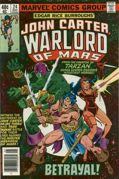John Carter: Warlord of Mars #24 Comic Books - Covers, Scans, Photos  in John Carter: Warlord of Mars Comic Books - Covers, Scans, Gallery