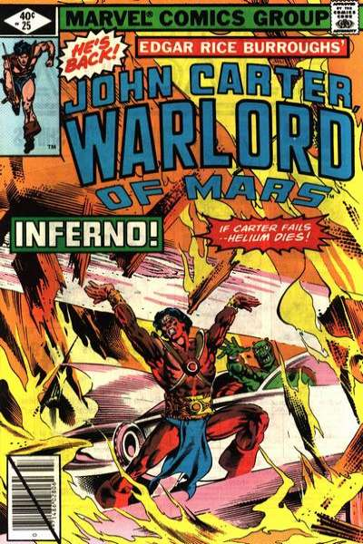 John Carter: Warlord of Mars #25 Comic Books - Covers, Scans, Photos  in John Carter: Warlord of Mars Comic Books - Covers, Scans, Gallery