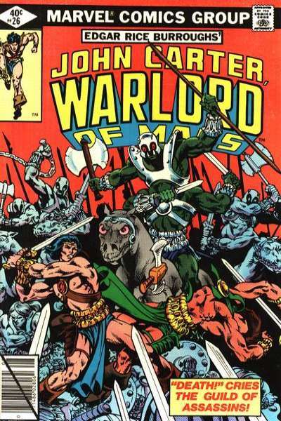 John Carter: Warlord of Mars #26 Comic Books - Covers, Scans, Photos  in John Carter: Warlord of Mars Comic Books - Covers, Scans, Gallery