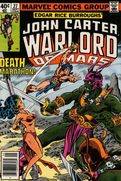 John Carter: Warlord of Mars #27 Comic Books - Covers, Scans, Photos  in John Carter: Warlord of Mars Comic Books - Covers, Scans, Gallery