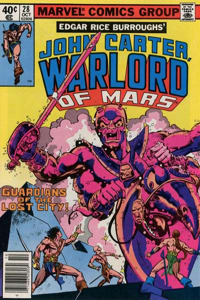 John Carter: Warlord of Mars #28 Comic Books - Covers, Scans, Photos  in John Carter: Warlord of Mars Comic Books - Covers, Scans, Gallery