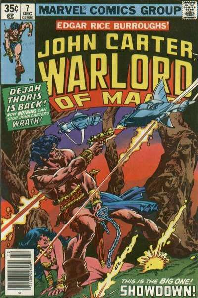 John Carter: Warlord of Mars #7 comic books for sale