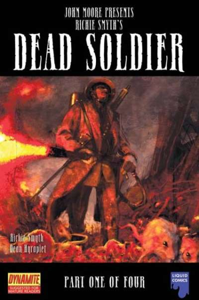 John Moore Presents: Dead Soldier comic books