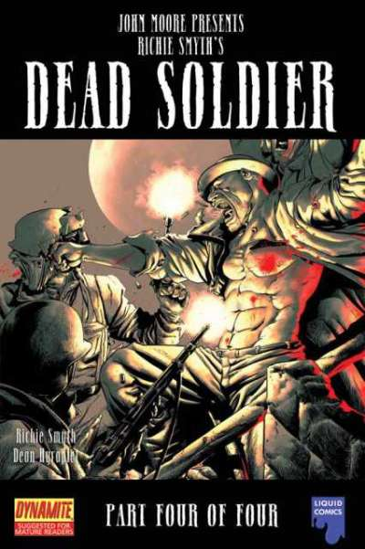 John Moore Presents: Dead Soldier #4 comic books for sale