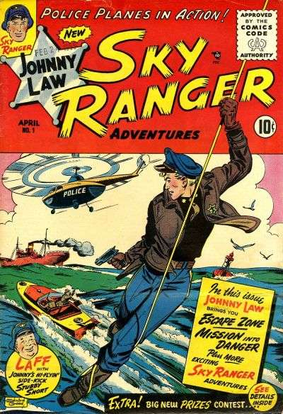 Johnny Law Sky Ranger comic books