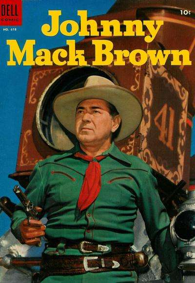 Johnny Mack Brown #15 comic books for sale