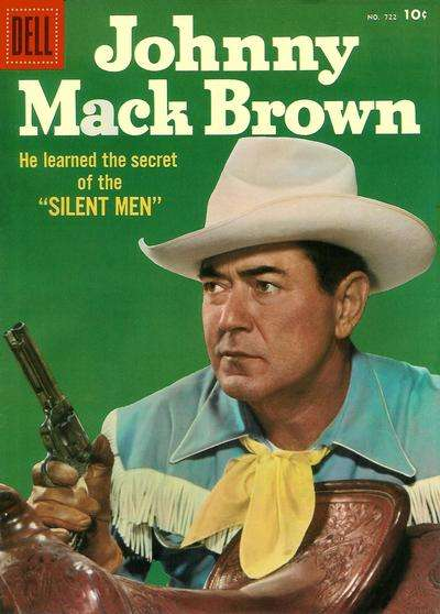 Johnny Mack Brown #18 comic books for sale