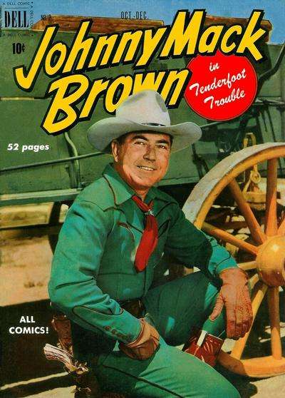 Johnny Mack Brown #2 Comic Books - Covers, Scans, Photos  in Johnny Mack Brown Comic Books - Covers, Scans, Gallery