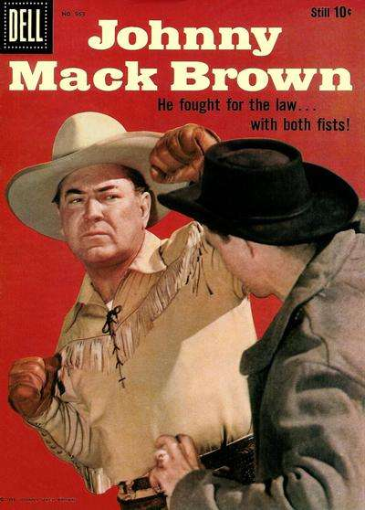 Johnny Mack Brown #21 comic books - cover scans photos Johnny Mack Brown #21 comic books - covers, picture gallery