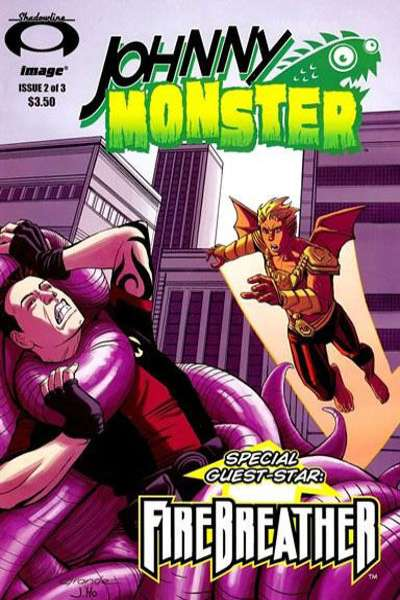 Johnny Monster #2 comic books for sale