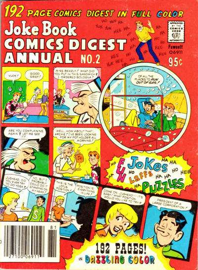 Jokebook Comics Digest Annual #2 Comic Books - Covers, Scans, Photos  in Jokebook Comics Digest Annual Comic Books - Covers, Scans, Gallery