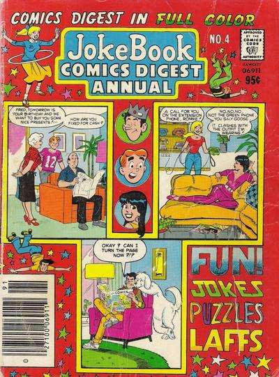 Jokebook Comics Digest Annual #4 comic books for sale