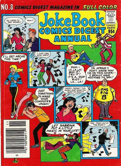 Jokebook Comics Digest Annual #8 comic books - cover scans photos Jokebook Comics Digest Annual #8 comic books - covers, picture gallery