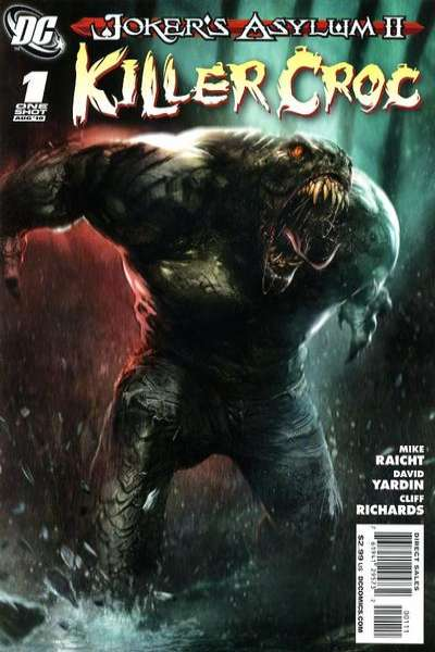 Joker's Asylum II: Killer Croc Comic Books. Joker's Asylum II: Killer Croc Comics.