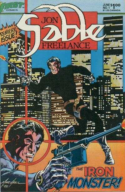 Jon Sable: Freelance #1 Comic Books - Covers, Scans, Photos  in Jon Sable: Freelance Comic Books - Covers, Scans, Gallery