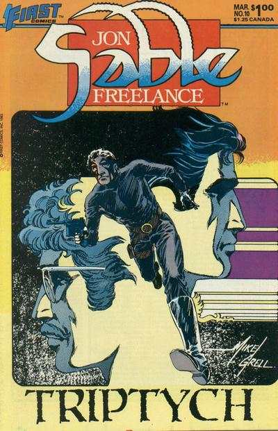 Jon Sable: Freelance #10 comic books - cover scans photos Jon Sable: Freelance #10 comic books - covers, picture gallery