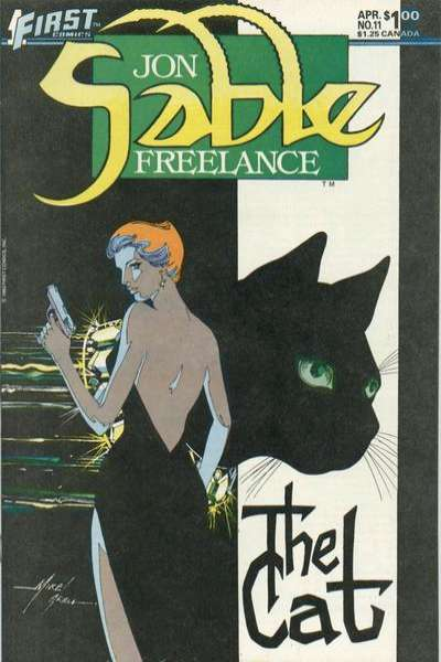 Jon Sable: Freelance #11 Comic Books - Covers, Scans, Photos  in Jon Sable: Freelance Comic Books - Covers, Scans, Gallery