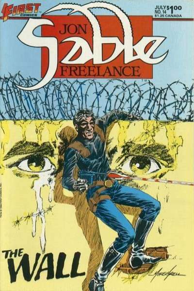 Jon Sable: Freelance #14 Comic Books - Covers, Scans, Photos  in Jon Sable: Freelance Comic Books - Covers, Scans, Gallery