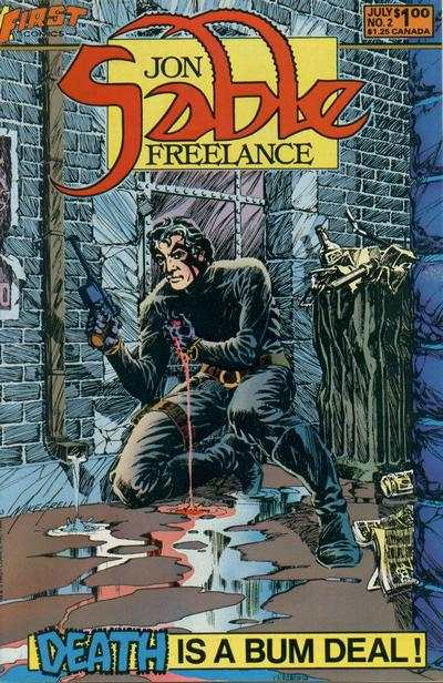 Jon Sable: Freelance #2 Comic Books - Covers, Scans, Photos  in Jon Sable: Freelance Comic Books - Covers, Scans, Gallery