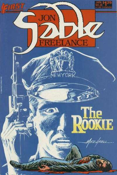 Jon Sable: Freelance #20 Comic Books - Covers, Scans, Photos  in Jon Sable: Freelance Comic Books - Covers, Scans, Gallery