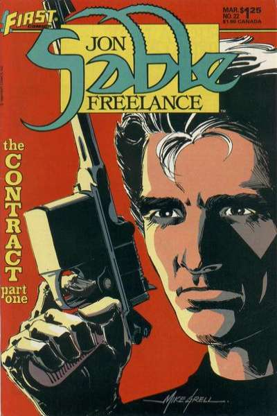 Jon Sable: Freelance #22 comic books for sale