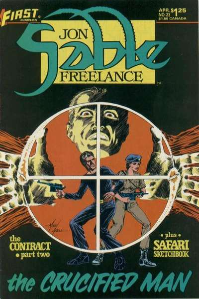 Jon Sable: Freelance #23 comic books - cover scans photos Jon Sable: Freelance #23 comic books - covers, picture gallery