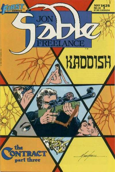 Jon Sable: Freelance #24 comic books for sale