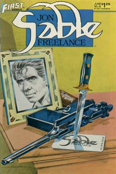 Jon Sable: Freelance #25 comic books - cover scans photos Jon Sable: Freelance #25 comic books - covers, picture gallery