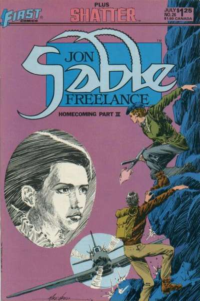 Jon Sable: Freelance #26 comic books - cover scans photos Jon Sable: Freelance #26 comic books - covers, picture gallery