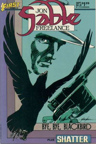 Jon Sable: Freelance #28 comic books for sale