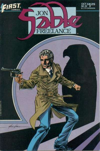 Jon Sable: Freelance #29 comic books - cover scans photos Jon Sable: Freelance #29 comic books - covers, picture gallery