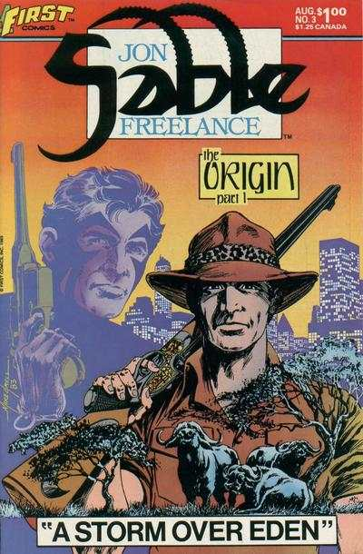 Jon Sable: Freelance #3 comic books - cover scans photos Jon Sable: Freelance #3 comic books - covers, picture gallery