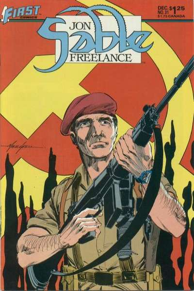 Jon Sable: Freelance #31 comic books for sale