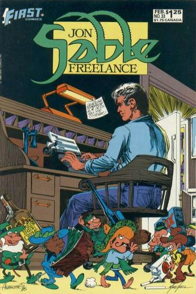 Jon Sable: Freelance #33 comic books for sale