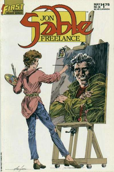 Jon Sable: Freelance #36 comic books - cover scans photos Jon Sable: Freelance #36 comic books - covers, picture gallery
