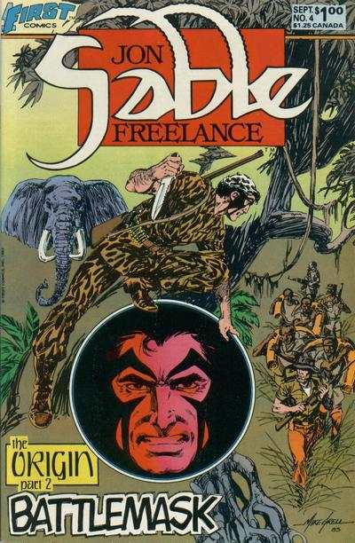 Jon Sable: Freelance #4 Comic Books - Covers, Scans, Photos  in Jon Sable: Freelance Comic Books - Covers, Scans, Gallery