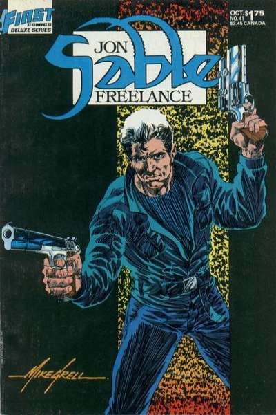 Jon Sable: Freelance #41 comic books for sale