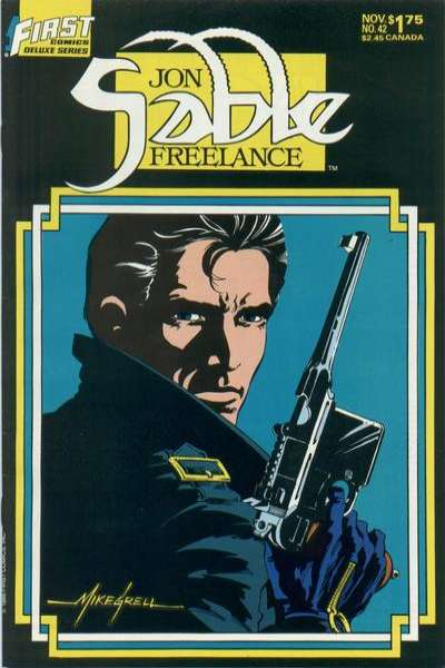 Jon Sable: Freelance #42 comic books for sale