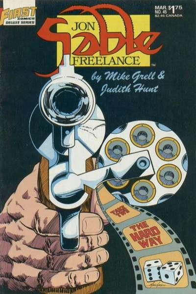 Jon Sable: Freelance #45 comic books for sale