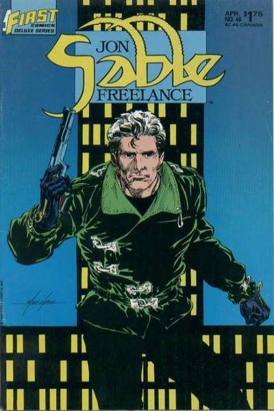 Jon Sable: Freelance #46 Comic Books - Covers, Scans, Photos  in Jon Sable: Freelance Comic Books - Covers, Scans, Gallery