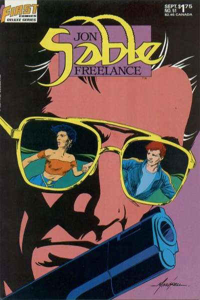 Jon Sable: Freelance #51 comic books for sale