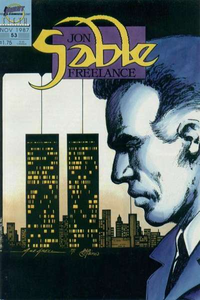 Jon Sable: Freelance #53 comic books for sale