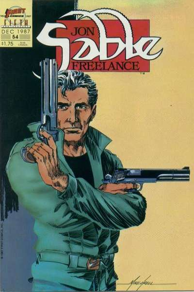 Jon Sable: Freelance #54 Comic Books - Covers, Scans, Photos  in Jon Sable: Freelance Comic Books - Covers, Scans, Gallery