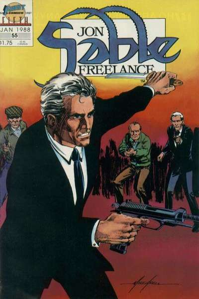 Jon Sable: Freelance #55 comic books for sale
