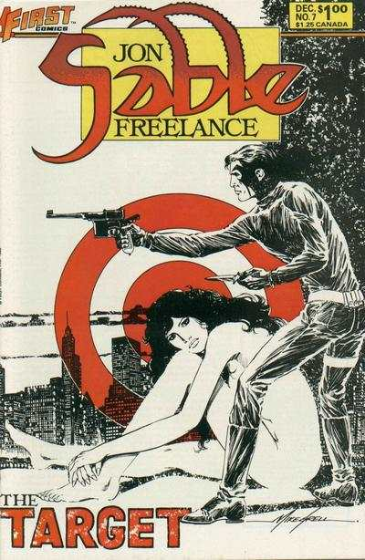 Jon Sable: Freelance #7 comic books - cover scans photos Jon Sable: Freelance #7 comic books - covers, picture gallery