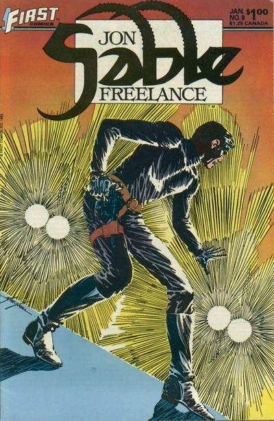 Jon Sable: Freelance #8 comic books for sale